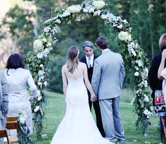Bella Fiori Floral Arch for a wedding at Beano