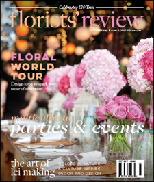 florists review magazine october 2017 - article about Alicia Schwede